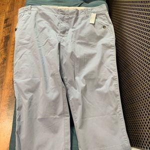 Old navy light blue cropped pants size 16